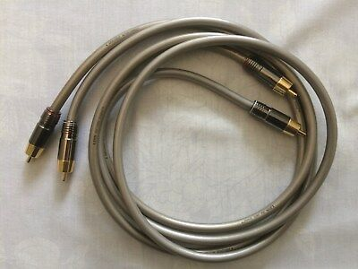 Linn 'Silver' interconnect cable