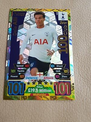 Match Attax 17/18 100 CLUB Dele Alli