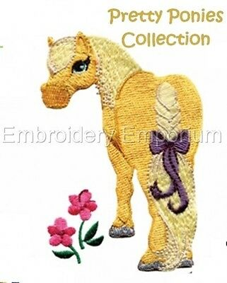 Pretty Ponies Collection - Machine Embroidery Designs On Cd