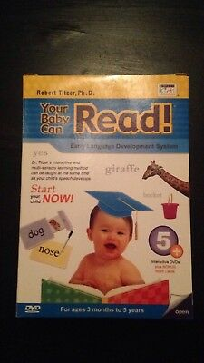 Your Baby Can Read DVD Set Of 5 New