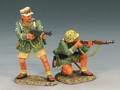 KING AND COUNTRY WW11 AFRICA KORPS  ATTACK GROUP ak057