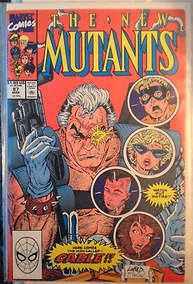 The NEW MUTANTS 87 first appearance CABLE deadpool movie 1st app 8 pics