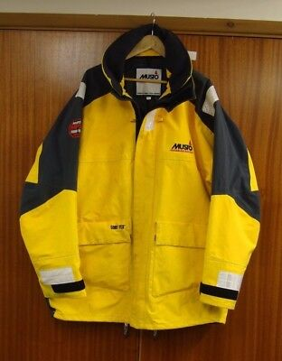Musto Offshore MPX jacket gold Gore Tex sailing XL