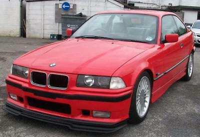 BMW E36 GT style splitter for M3 and m-tech front bumper
