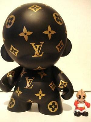 "Kidrobot Munny Louis Vuitton Custom - 7"" One of kind Figure 18cm Figurine unique"
