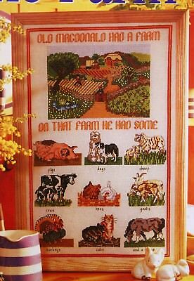 'Down On The Farm' Sampler Cross Stitch Chart (3)