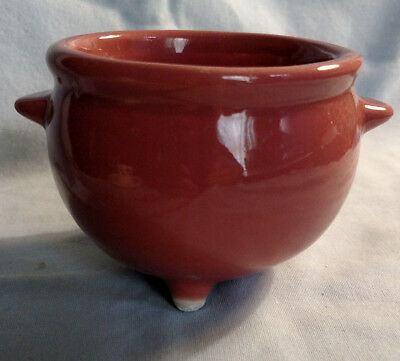 Coors Individual Footed Bean Pot in Mauve