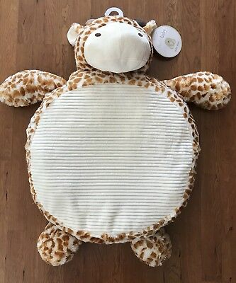 "Plush Non-Skid  GIRAFFE "" Baby Mat""  Infant- Activity -Nap -Play!"