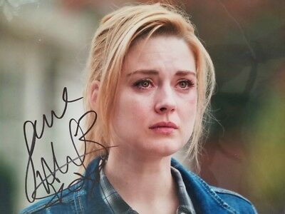 Alexandra Breckenridge signed 8x10 Authentic Autograph The Walking Dead