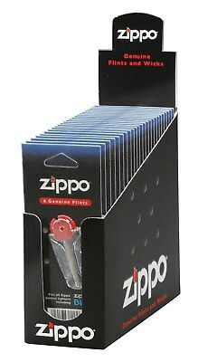 Zippo Flints, Box of 24 Cards (Six Flints per Card) - 2406N