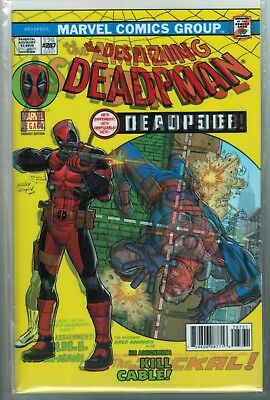 Despicable Deadpool #287 Lenticular Homage Variant Cover VF/NM Marvel Legacy