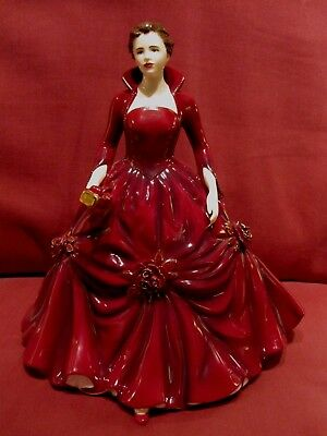 Absolutely Stunning Ltd Edt Retired Royal Doulton Figurine A Christmas Wish