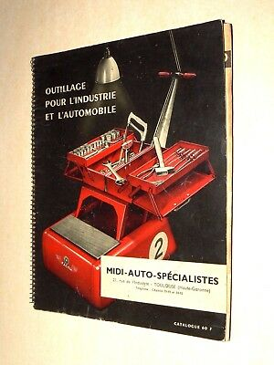 Catalogue Outils FACOM 1956 Auto outillage car garage truck tracteur 60 F  Tools