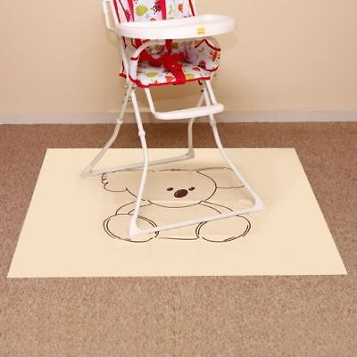 Pipsy Koala Floor Protecting High Chair Splash Mat & Messy Play Mat