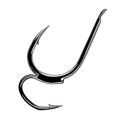 10pcs Special Eagle Claw production perfect hook double hook AAA