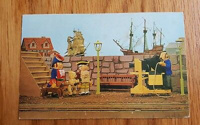 Salmon Postcard of Larry The Lamb in Toytown