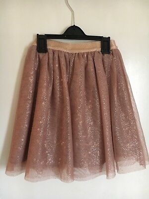 Girls Party Skirt With Sequin Detail Age 9-10 From George @ ASDA Pink Christmas