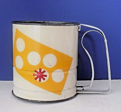 Vintage ANDROCK 1950s Flour Sifter