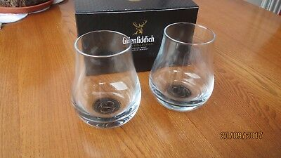 Glenfiddich whisky tasting glasses