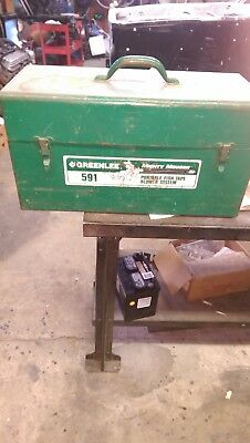 Greenlee 591 Portable Blower Power Fishing System Used   no blower