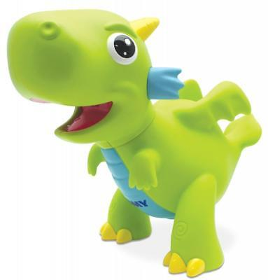 Tomy Squeeze to Squirt Light Up Bathtime Dragon Bath Toys