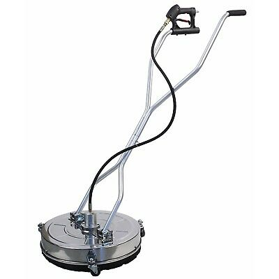 Stainless Steel Flat 24″ Pressure Power Washer Surface Cleaner 4000 PSI Max 8GPM
