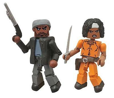 The Walking Dead Minimates Series 5 Tyreese and Prison Michonne