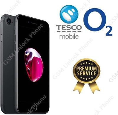 O2 Tesco UK official factory Unlocking unlock code Service for  iphone 8 8 PLUS