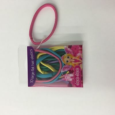 102 x Packs of 10 assorted girls large flat elastics bobbles hair grips RRP £204