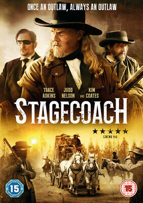 Stagecoach - The Texas Jack Story DVD (2017) Trace Adkins