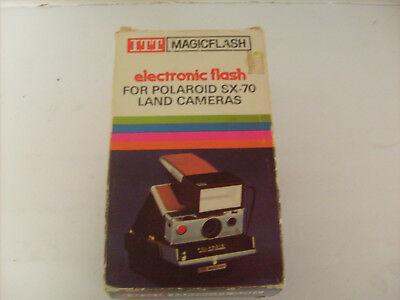 ITT MagicFlash electronic flash attachment for Polaroid SX-70 Land Camera