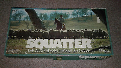 ,Squatter The Australasian Farming Vintage Board Game 1961 RARE