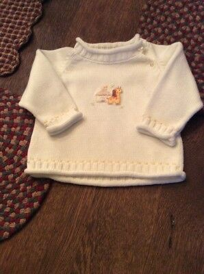 Kissy Kissy Baby Boys Sweater..3-6 Months NWOT