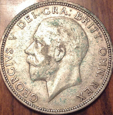 1933 Uk Gb Great Britain Florin .500 Silver In High Grade