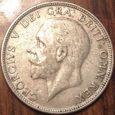 1935 Uk Gb Great Britain Florin .500 Silver In High Grade