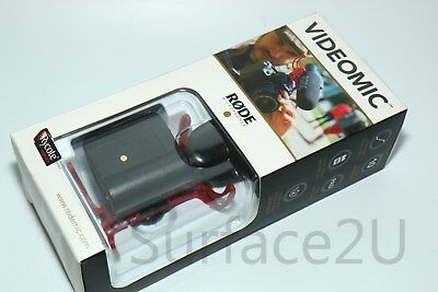 Rode VideoMic Directional Condenser Microphone with Rycote Lyre Suspension - NEW