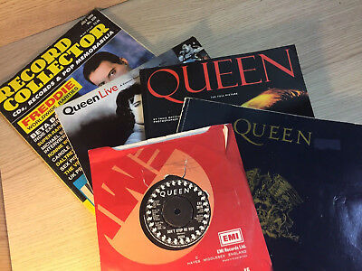 Queen Book Collection Band -  Freddie Mercury with SP
