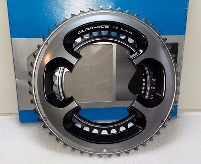 Shimano Dura Ace FC-9000 Chainring 11-speed Set 50T 34T 110 BCD