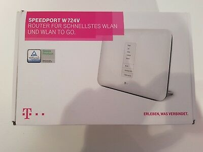 telekom speedport w724v typ a wi fi router vdsl annex j f r ip telefon eur 15 00. Black Bedroom Furniture Sets. Home Design Ideas