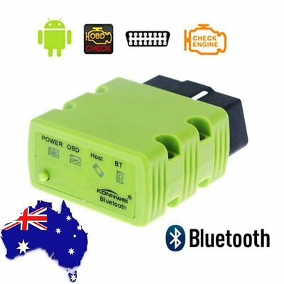 Mini OBD2 OBDII ELM327 Bluetooth Car Scanner Android Torque Diagnostic Scan Tool