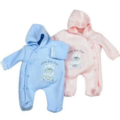 Premature  Baby Clothes Tiny sleepsuit all in one Boy Girl 3-5 - Newborn -Reborn