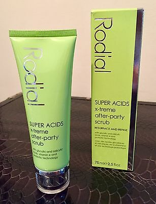 Rodial Super Acids X-treme After-Party Scrub - 75ml - New