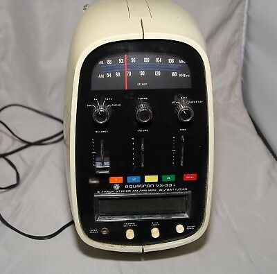 Brother-Aquatron-Model-VX-33-Portable-8-Track-Player-The-Egg-AM-FM-Radio-Stereo