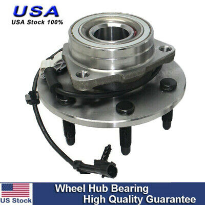 MOOG Front Wheel Hub & Bearing w/ ABS for Chevy GMC Pickup Truck 4X4 4WD AWD