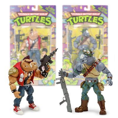 New Teenage Mutant Ninja Turtles Bebop Or Rocksteady Figures TMNT Official