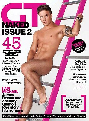 GAY TIMES MAG GT444 April 2015 Sam Callahan Russell Tovey Marc Almond