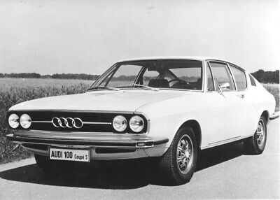 1974 Audi 100 Coupe S ORIGINAL Factory Photo oub8995