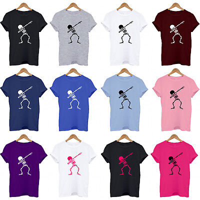 Skeleton Dabbing, Dab, Dabs, Dancing, Halloween, present funny T Shirt, Top