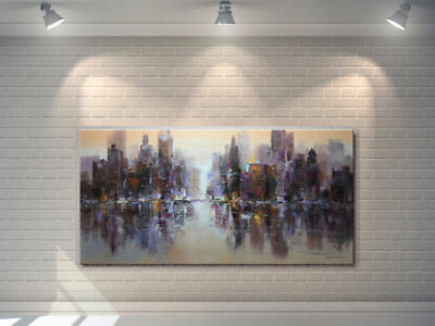 Large Modern Abstract hand painted Art Oil Painting Wall Decor canvas NO FRAME48