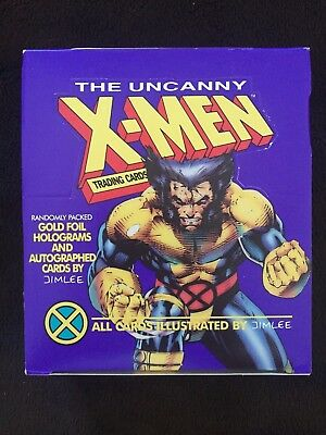 The Uncanny X-Men Trading Cards by Jim Lee 1992 Impel, Opened 35 Unopened Packs